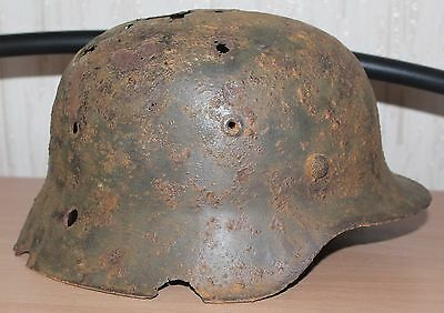 Helm M-42 from Bunker Orlovka Nord Kessel Wehrmacht WH STALINGRAD