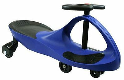 Swing Wiggle Gyro Ride On Car No Pedals No Batteries Great Fun Uk Stock Blue