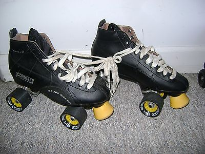 Formula Speed Skate W/Scuff Guard Roller Derby Pacer Mens Size 8