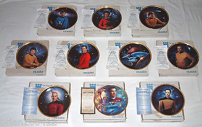 Hamilton Collection Star Trek ~ The Next Generation Series Collectors Plates