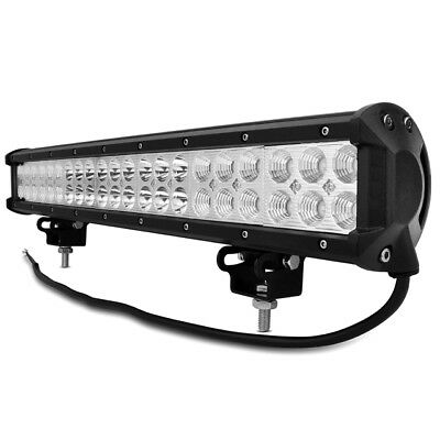 Spot Flood 20in 126W Cree LED Work Light Bar Offroad 4WD Truck ATV SUV Jeep Lamp