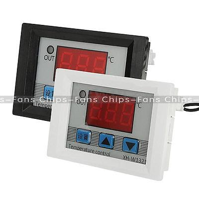 DC 12V 10A Digital LED Temperature Controller Thermostat Control Switch Probe UK
