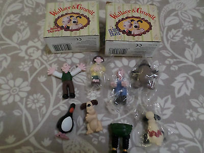 Wallace & Gromit Figures Close Shave & Wrong Trouser