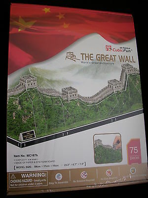 3D Puzzle Chinesische Mauer (59cm lang!) Cubic Fun The Great Wall China Monument