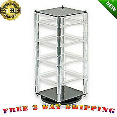 Earring Revolving Display Stand Jewelry Card Rotating Cards NEW