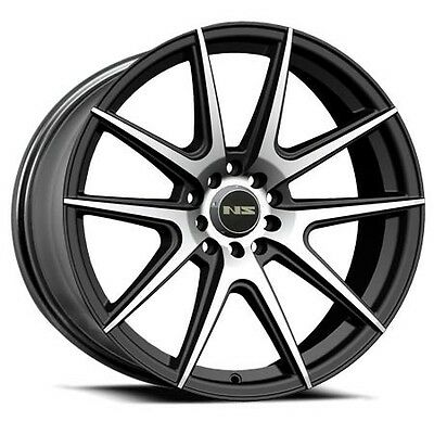 17 Inch Aodhan Ah04 Ab Wheels Integra Neon Civic Bmw Accord Crx