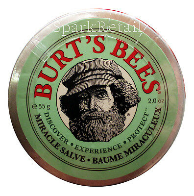 Burt's Bees Organic MIRACLE SALVE Rescue Balm For Dry Skin & Hair 55g Burts