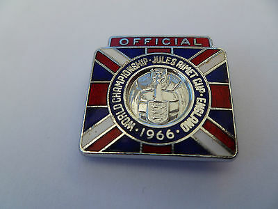 England World Cup 1966 Officials badge