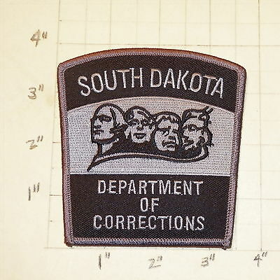 SOUTH DAKOTA Department of Corrections Patch                 ***NEW***