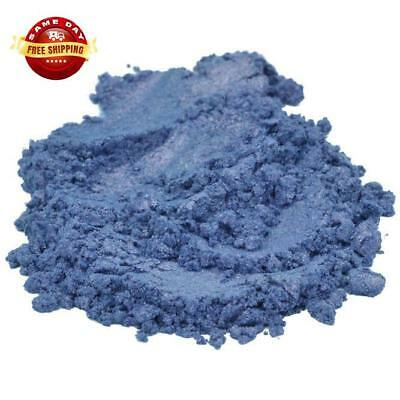 MIDNIGHT BLUE MICA COLORANT COSMETIC GRADE PIGMENT by H&B Oils Center 4 OZ
