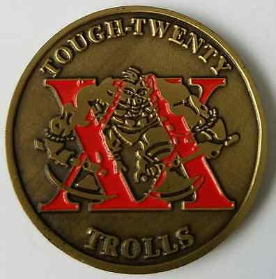 USAF United States Air Force Academy Tough Twenty XX Trolls