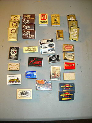 Vintage Collectable matches in boxes (32)