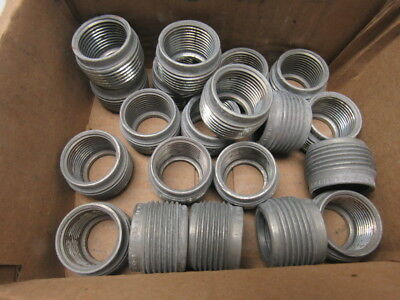 """Crouse Hinds Co RE32 Conduit Hub Reducers 1"""" x 3/4"""" Lot of 20"""