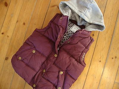 Next Girls Gilet Bodywarmer Age 7-8 Years