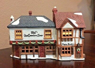 """Department 56 Heritage Dickens' Series """"THE OLD CURIOSITY SHOP"""" #5905-6"""