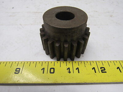"Boston NF20B 20 Teeth Spur Gear 10 Pitch 2.2"" OD"