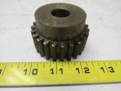 "Boston NF24B 24 Teeth Spur Gear 10 Pitch 2.6"" OD 3/4"" Bore"