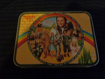 New 1995 Wizard of OZ Playing Cards in Decorative Tin 2 Decks Sealed Enesco