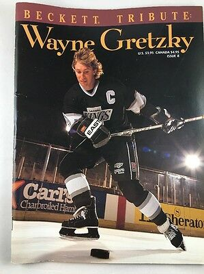 Beckett Tribute Wayne Gretzky Issue 8 Magazine Book 80 Pages