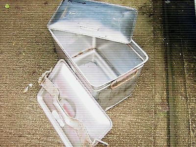 Army Stainless steel cook pot 6 gallon with lids Army field kitchen trailer