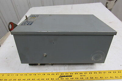 Square D PQ-3610G I-Line Busway Fusible Disconnect Plug-In Unit 100A 600V 3P