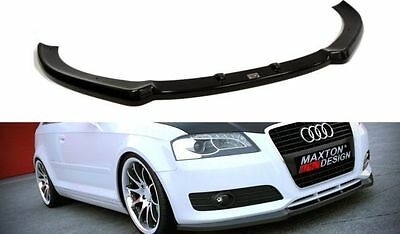 Cup Spoilerlippe Front Diffusor Carbon Audi A3 8P Facelift