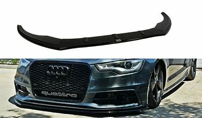 Cup Spoilerlippe Front Diffusor Carbon Audi A6 C7 S-LINE v.1