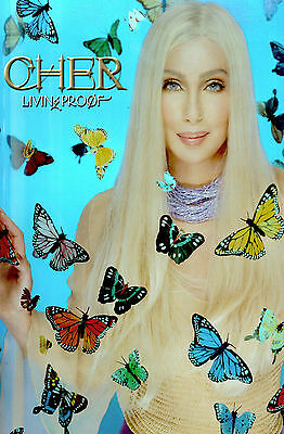 Cher 2005 Living Proof Official Tour Hologram Poster