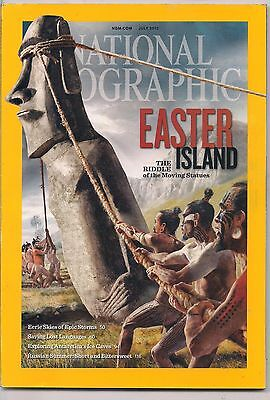 national geographic-JULY 2012-EASTER ISLAND.