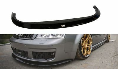 Cup Spoilerlippe Front Diffusor Schwarz Audi A6 RS6 C5