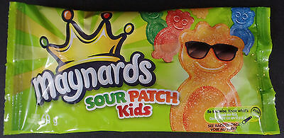 MAYNARDS  sour patch kids FAT FREE 60G PER PACK