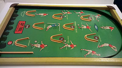 Vintage 1960 Bagatelle football FA Cup Final game for marbles England Kay soccer