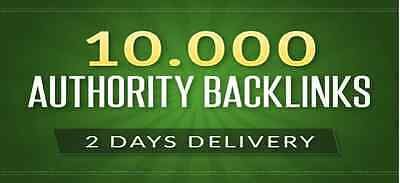 10000 Authority Backlinks for Google ranking with Full Report