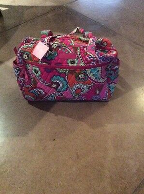 New VERA BRADLEY Diaper Baby Bag with changing pad in Pink Swirls
