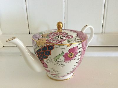 Wedgwood China - Butterfly Bloom Teapot