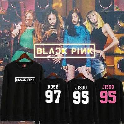 KPOP BLACKPINK Sweatershirt [SQUARE ONE] Sweater JENNIE  Hoodie Pullover Coat