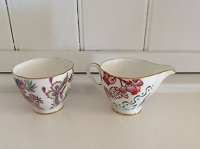 Wedgwood China - Butterfly Bloom Sugar & creamer