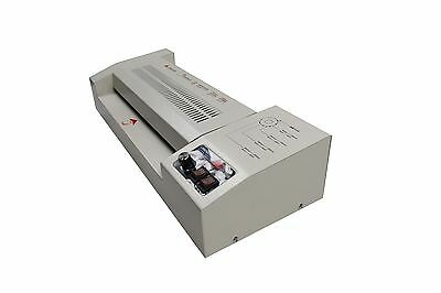 "Duty 12.5"" Hot & Cold Pouch Laminating Machine Thermal Laminator"