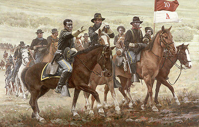 """""""Tracking Victorio"""" Don Stivers Limited Edition Signed Print - US Cavalry"""