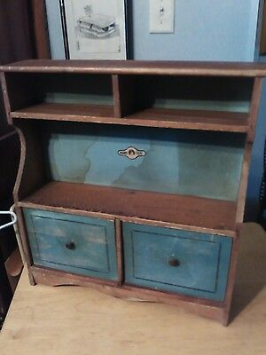 Wooden Doll Hutch from Marylou P!aythings JC Penny