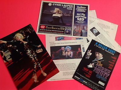 Cyndi Lauper Emmy Award Red Carpet Photo & Clippings & Articles