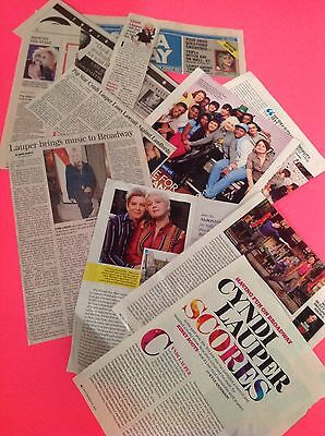 Cyndi Lauper Clippings & Articles