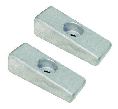 Pair of Anodes Lower Unit Mercury and Honda Outboard 826134Q  41109-ZW1-003