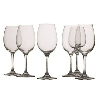 New Maxwell & Williams Mansion White Wine Glass 240ml Set of 6
