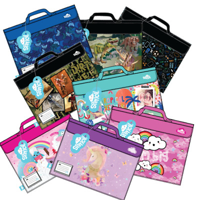 SPENCIL 'LIBRARY BOOK BAG' (You Choose Design) Back to School *NEW*