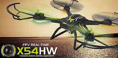SYMA X54HW FPV Drone with altitude hold & headless flight mode functions