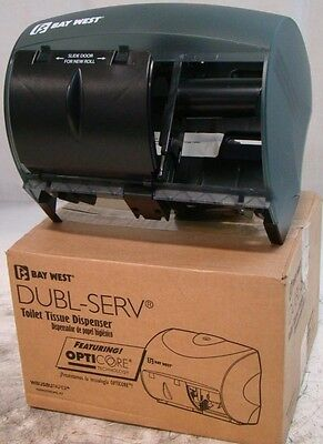 New Double Roll Toilet Tissue Dispenser BAY WEST Renown 05162 Opticore