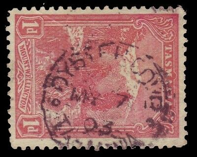 Tasmania • CDS Postmark on Pictorial • OYSTER COVE (Type 1)