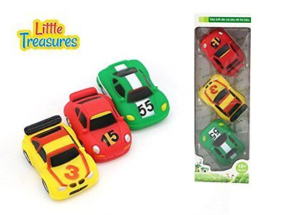 Little Treasures Racers Baby bath toy car set for 18+ months toddlers with cars