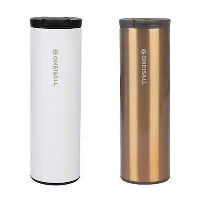 500ML Stainless Steel Vacuum Thermos Insulated Coffee Travel Mug Office Bottle